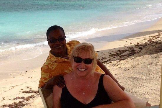 Nisbet Plantation Beach Club : Charming, fun and attentive staff
