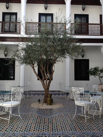 Bellamane, Ryad & Spa: courtyard