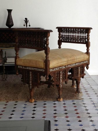 Bellamane, Ryad & Spa: Typical morrocan furniture