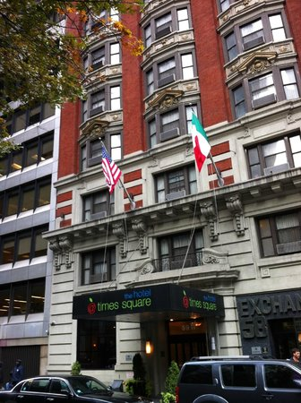 The Hotel at Times Square : Fachada