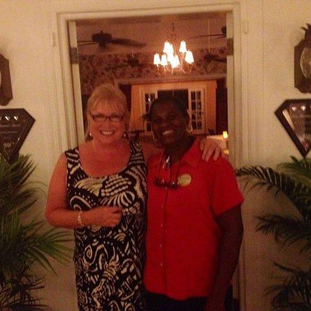 Nisbet Plantation Beach Club : Dinner at the Great House with it's daily changing gourmet menu was always a treat