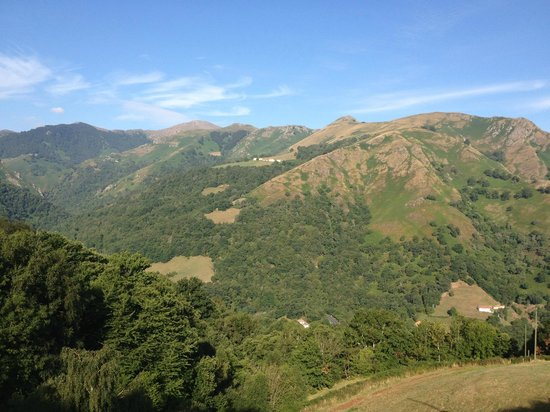 Idiartekoborda : Vue depuis la bergerie