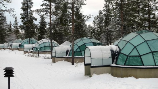 Kakslauttanen Arctic Resort : Glass Igloos