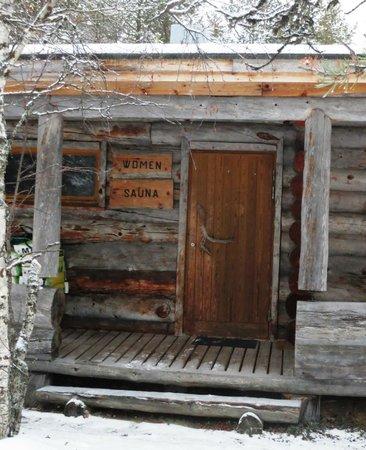 Kakslauttanen Arctic Resort : Sauna