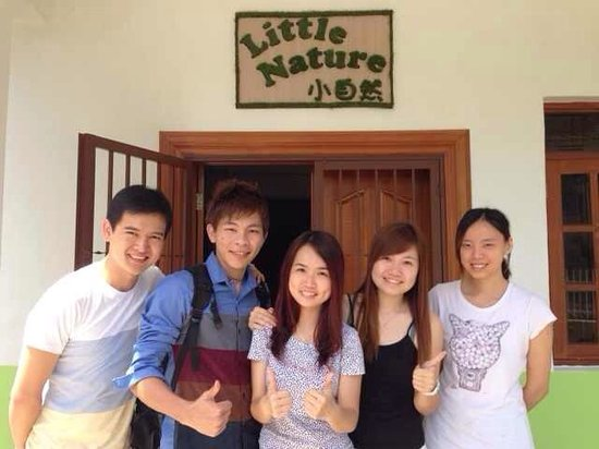 Little Nature Penang Homestay: The hospitable n friendly owner