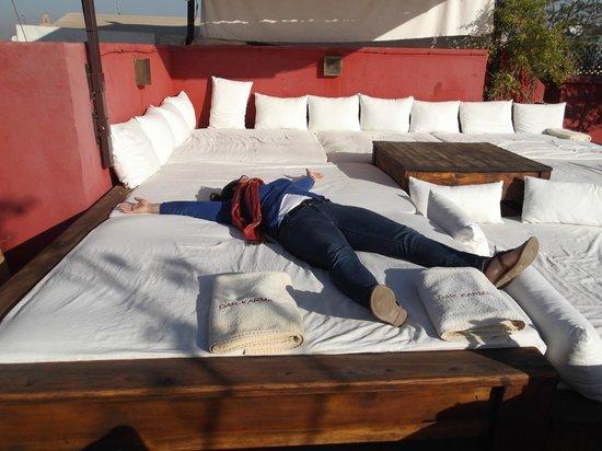 Riad Dar Karma: Roof terrace
