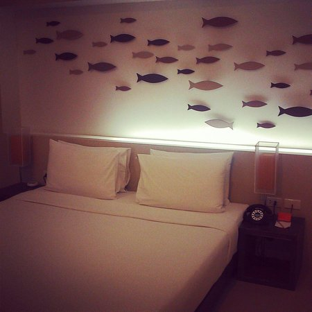 The Album Hotel: Fishy room