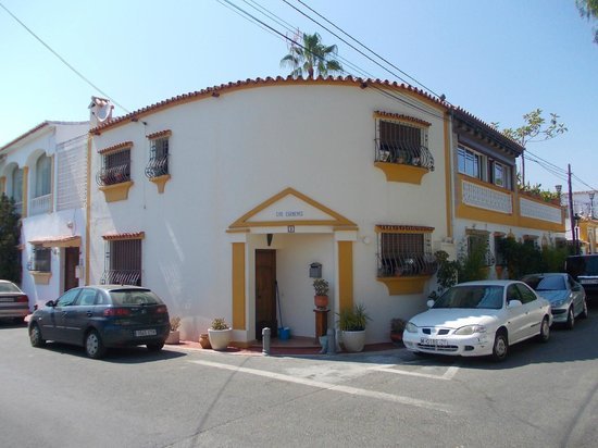 Globales Cortijo Blanco Hotel: View of the hotel from the back