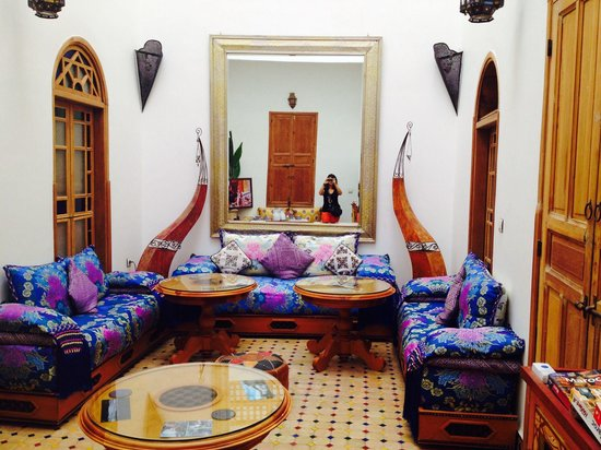 Riad Idrissides: Salle à manger