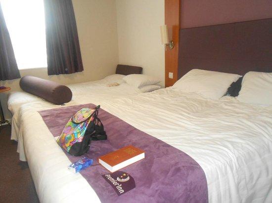Premier Inn London Beckton Hotel: Chambre