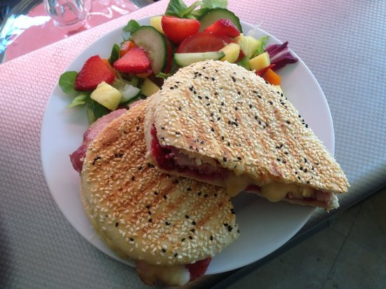 Sienna Deli: One of our delicious panini