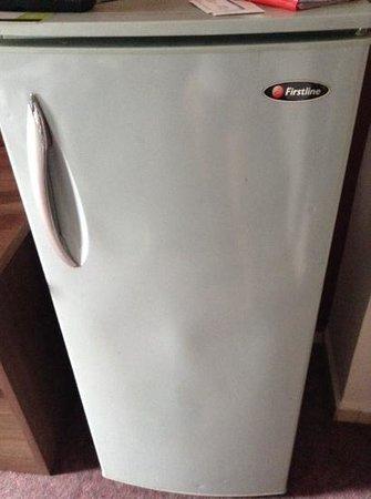 Take's Mansion: No kitchen. Huge fridge for?!