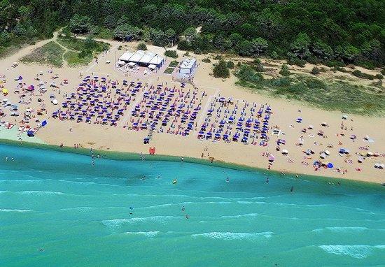 Hotel San Marco: spiaggia privata