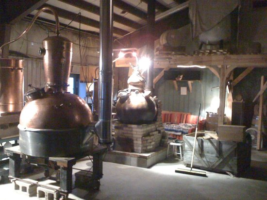 Apple brandy stills at Shelburne orchards