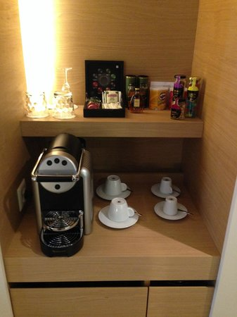 Hotel N'vY : Coffee selection & Nespresso coffee machine