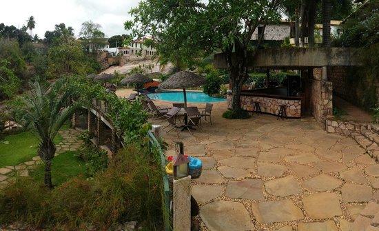 Hotel Canto das Aguas: Hotel Canto das Águas - vista da piscina.