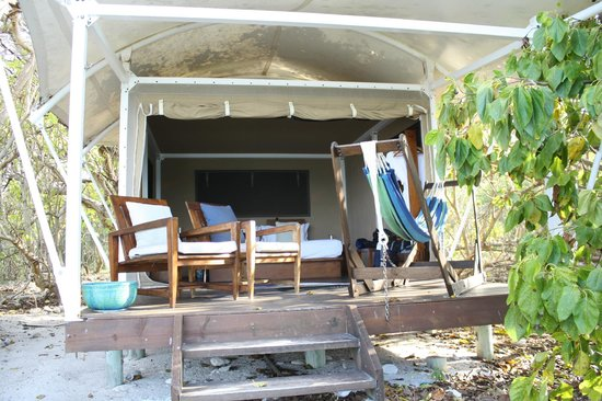 Wilson Island, Australien: our accomodation