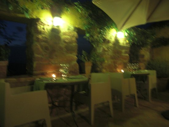 hotel el jardin vertical cenas en la terraza