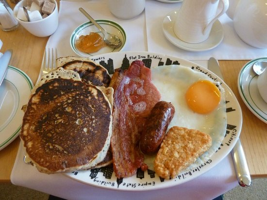 Ambleside American-style Compston House B&B: Delicious Breakfast