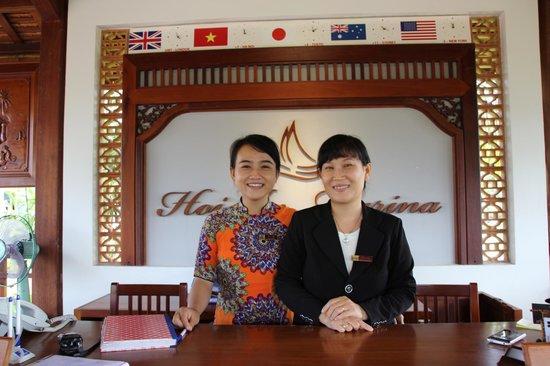 Hoi An Silk Marina Resort & Spa: Hotel Reception