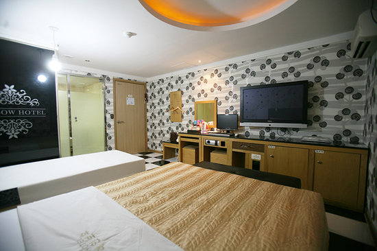 Rainbow Hotel: korea famous places to visit, south korean vacation packages, attraction in korea, Korea hotel ,