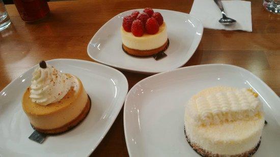 She's cake : Nos 3 cheesecakes