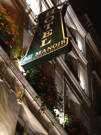 Au Manoir Saint Germain De Pres: ホテル