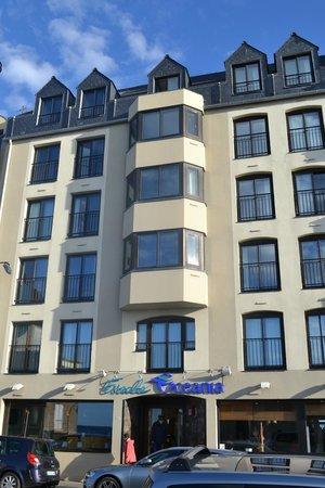Escale Oceania Saint Malo : L'hotel Escale Océania