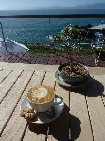 Cliff Lodge: der beste Cappuccino