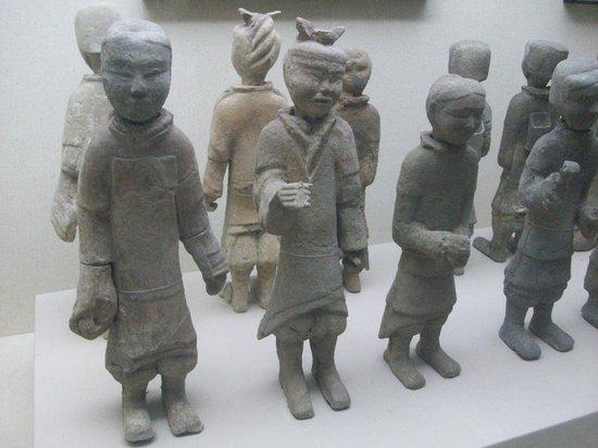 Western Han Dynasty Terracotta Warriors : guerrieri esposti