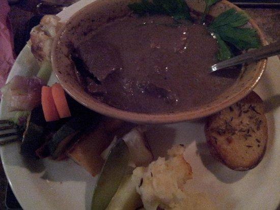 Beddgelert Antiques and Tea Rooms: la carne stufata al pepe!
