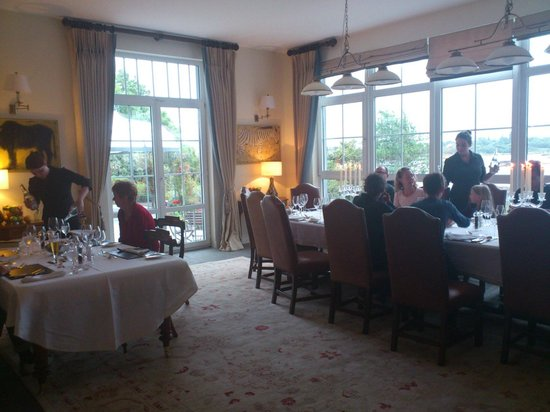 Rosmuck, Irland: One of the wonderful dinner nights at Screebe