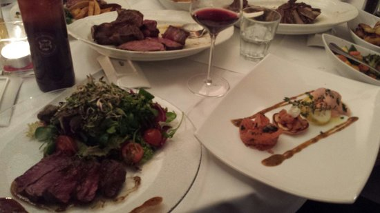 Steak Boutique: Filet, Salat, Lachs, Porterhouse