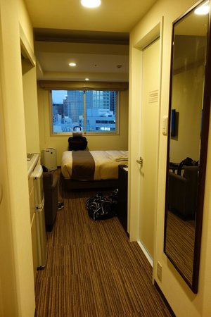 Tokyu Stay Gotanda : Double room on 12th floor
