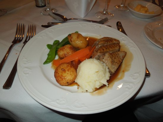North West Castle Hotel: Pan Fried Breast of Gressingham Duck