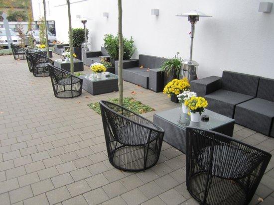Parkhotel Oberhausen : Außenbereich zum Relaxen