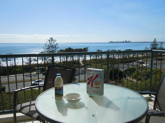 Oaks Seaforth Resort: Breakfast