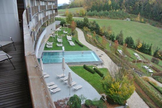 Falkensteiner Balance Resort Stegersbach: Blick vom Balkon