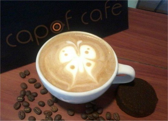 Capof Cafe Javeriana: Arte Latte