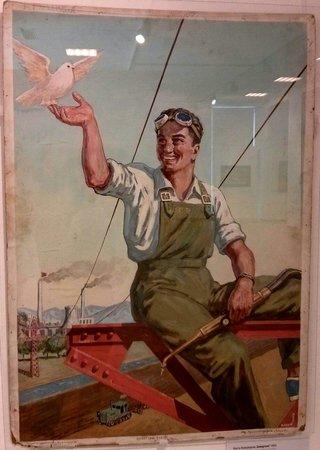 "Museum of Socialist Art: Lost a Kojuharov -"" Welder"", 1952"