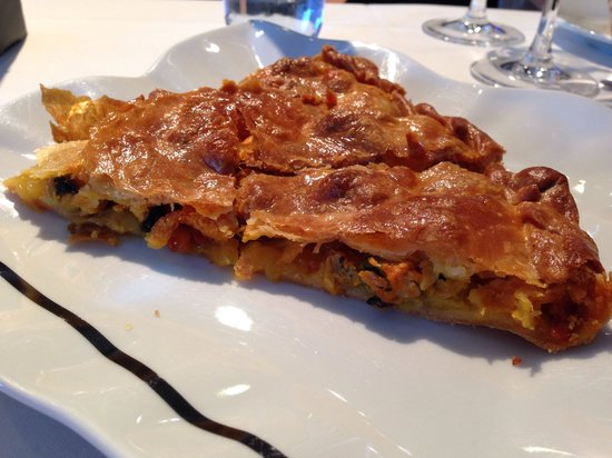 Restaurante Carmen: Empanada de Mejillones con Chorizo