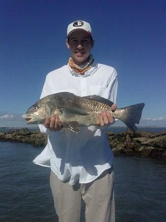 Knot @ Work Fishing & Site-Seeing Charters : Captain Robert captures the success on camera!