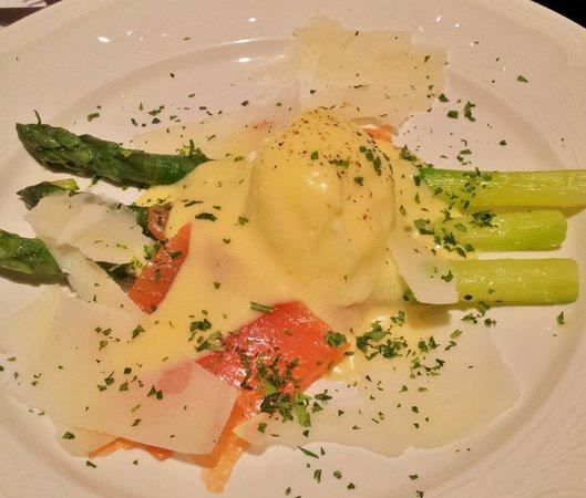 Cuq en Terrasses: appetizer course