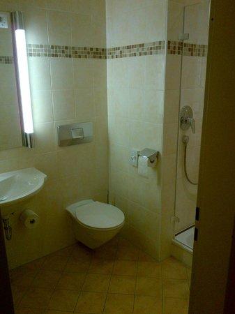 Hotel an der Ilse: salle de bain
