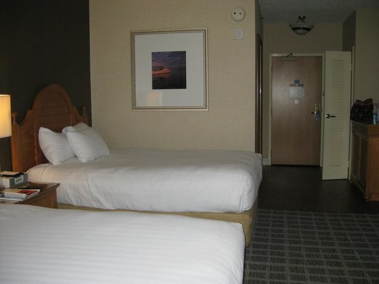 Hyatt Regency Chesapeake Bay Golf Resort, Spa & Marina: 2 Double beds in room