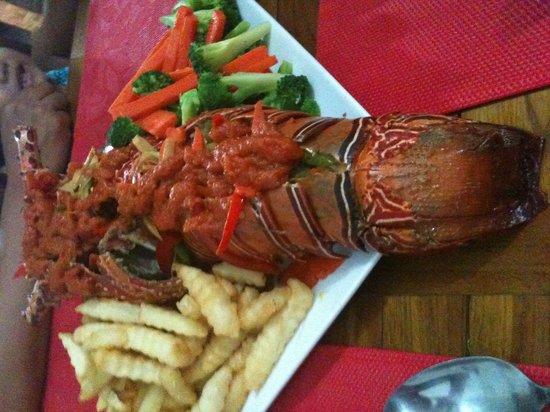 Magoes Warung: ...leckerer Lobster.