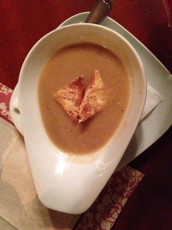 U Bileho Lva: soup