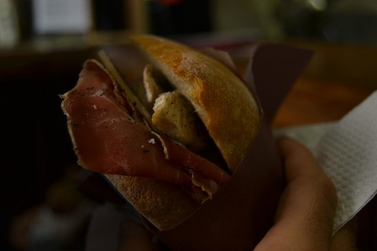 La Bottega di Perugia : uno dei panini