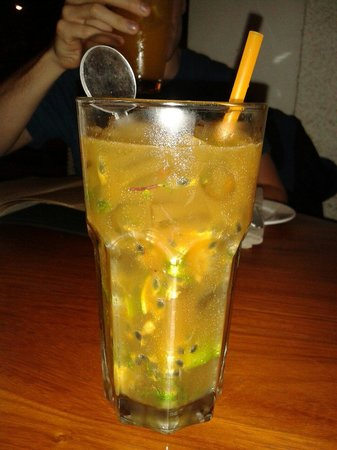 Touk: Passion fruit mohito. Highly recommended
