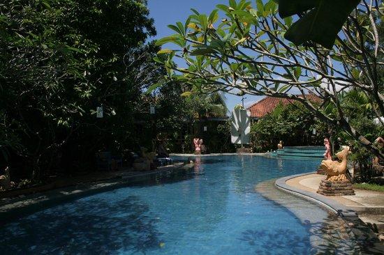 Ao Chalong Villa & Spa: Blick auf Pool und Hotelanlage...